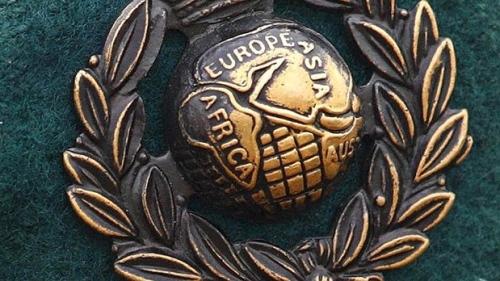 RM cap badge