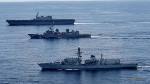 british-frigate-hms-argyle--japanese-destroyer-inazuma-and-japanese-helicopter-carrier-kaga-take-part-in-a-joint-naval-drill-in-the-indian-ocean-1